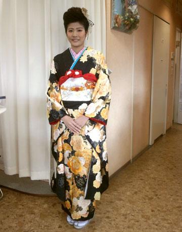 名古屋市中川区の着付けができる美容院:謹賀新年