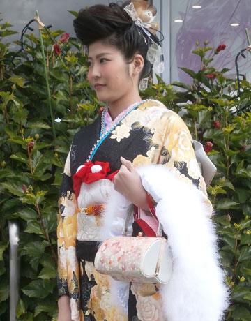 名古屋市中川区の着付けができる美容院:新年