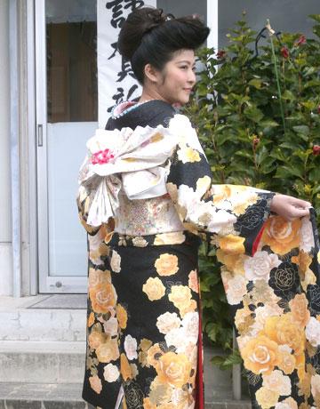 名古屋市中川区の着付けができる美容院:新年・振袖・初詣