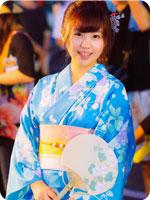 浴衣のワンコイン500円着付け教室、名古屋中川区荒子美容院