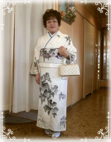 結婚式の着付け:ご家族の着付け、初顔合わせ・お母様