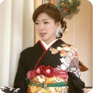初顔合わせのお着付け:結婚式で中川区の着付けができる美容院